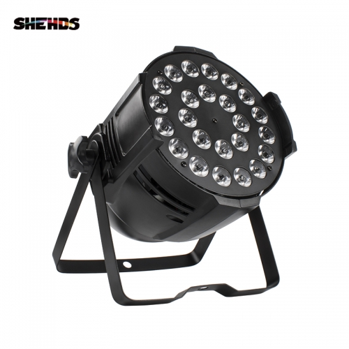 24x12W / 24x18W Led Par Light RGBW 4IN1 / RGBWA + UV 6IN1 DMX DJ Disco KTV Party Stage Equipo de efecto de boda Powercon