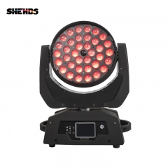 Buena calidad 36x18W RGBWA UV 6in1 / 36x12 RGBW 4in1 Interior LED Par Zoom Light Colorido Lavado Luces de zoom