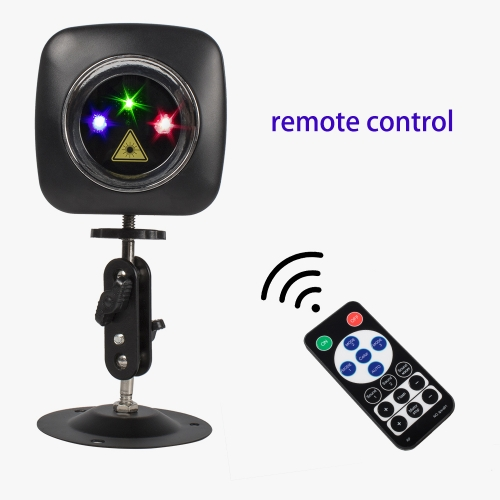 Control remoto inalámbrico USB RGB y RG Mini luz láser cargada DJ Disco Party Effect Lighting